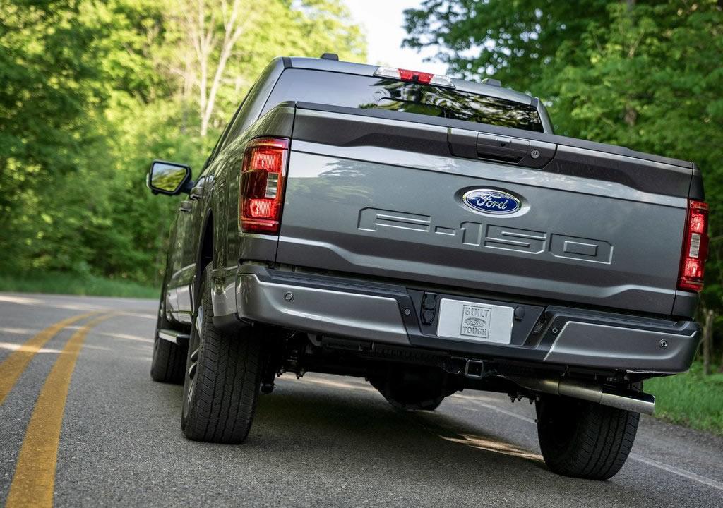 2021 Yeni Ford F-150 Fotoğrafları