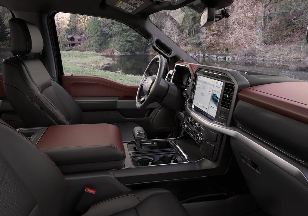 2021 Yeni Ford F-150 İçi