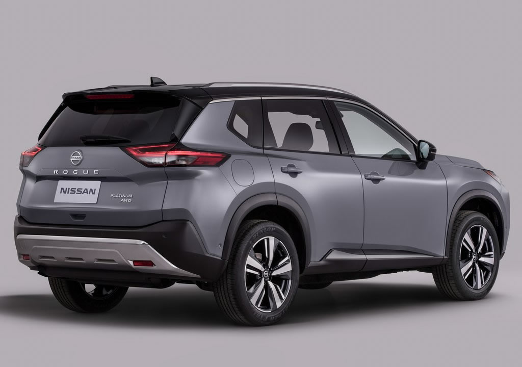 2021 Yeni Kasa Nissan Rogue Fotoğrafları