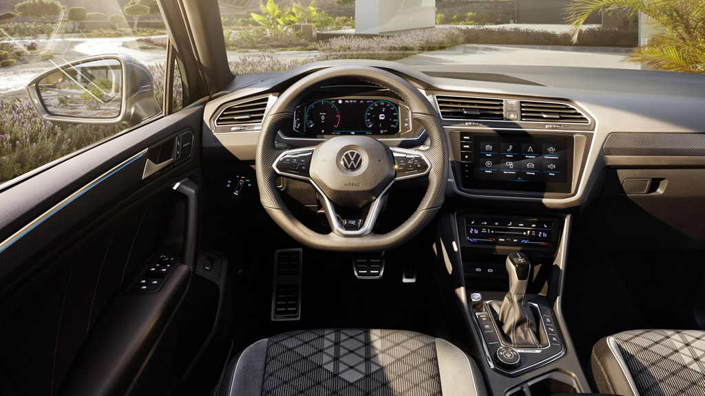 2021 Yeni Kasa VW Tiguan Kokpiti