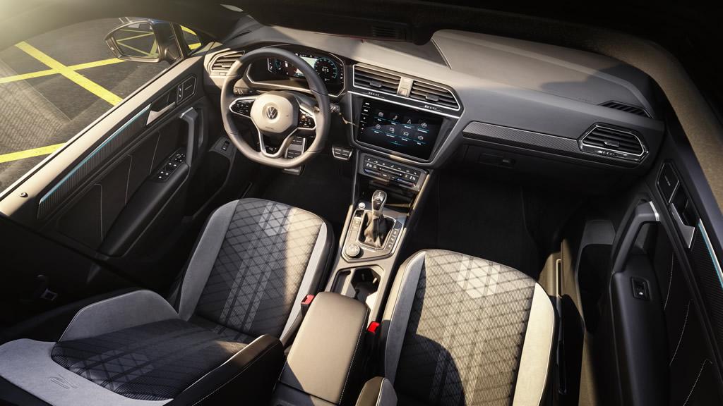 2021 Yeni Kasa VW Tiguan İçi