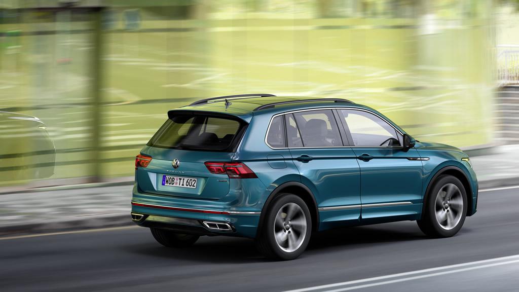 2021 Yeni Kasa VW Tiguan Teknik Özellikleri