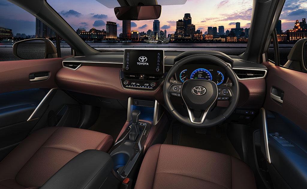 Toyota Corolla Cross Kokpiti