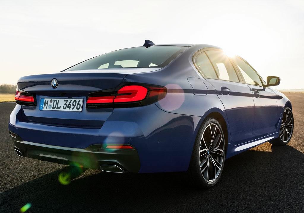 Makyajlı 2021 BMW 5 Serisi Türkiye