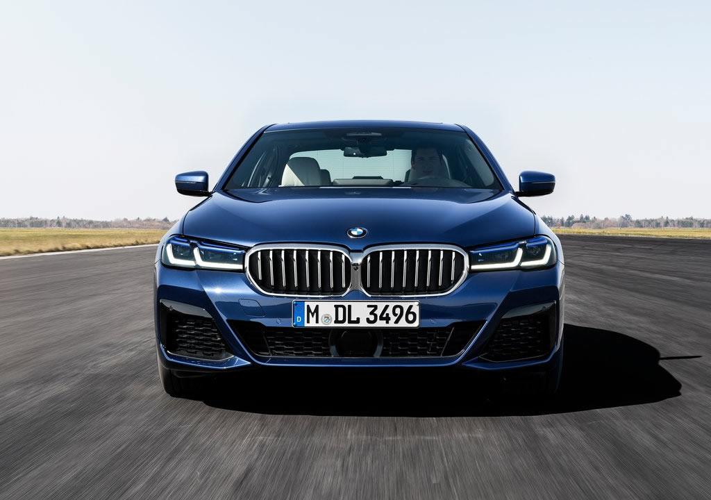 Makyajlı 2021 BMW 5 Serisi