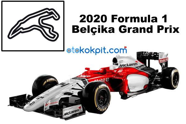 2020 Formula 1 Belçika Grand Prix Saat Kaçta