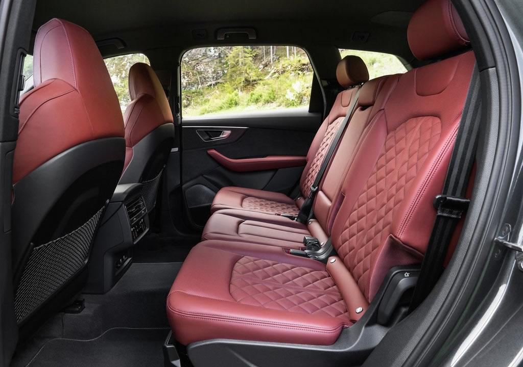 2021 Audi SQ7 TFSI Diz Mesafesi