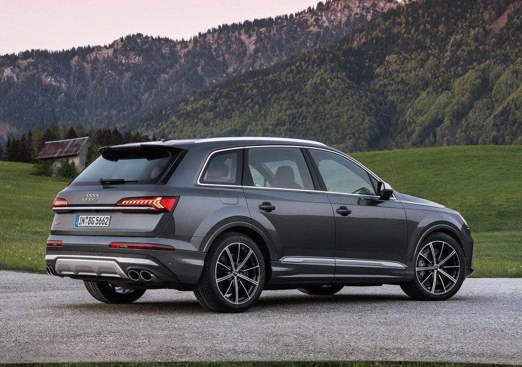 2021 Audi SQ7 TFSI 0-100 km/s
