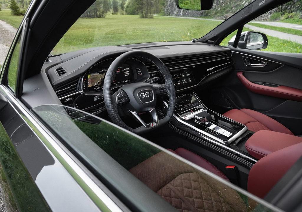 2021 Audi SQ7 TFSI İçi