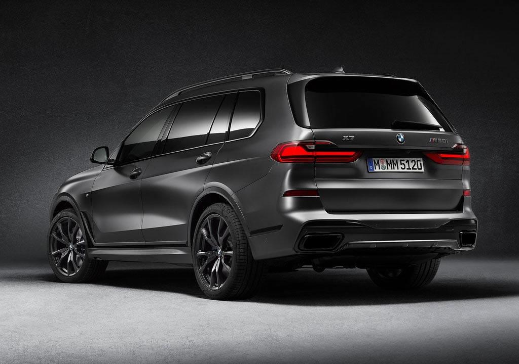 2021 BMW X7 Dark Shadow Edition Özellikleri