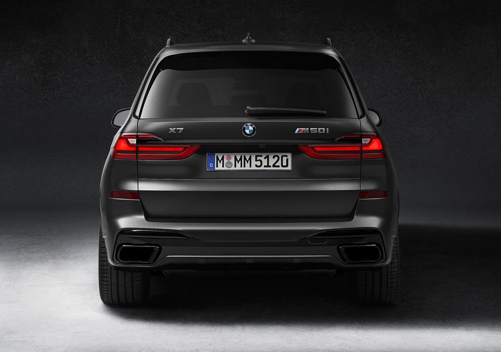 2021 BMW X7 Dark Shadow Edition Teknik Özellikleri