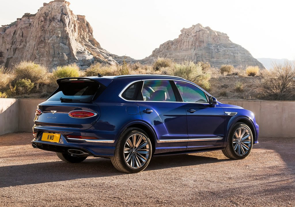2021 Yeni Bentley Bentayga Speed