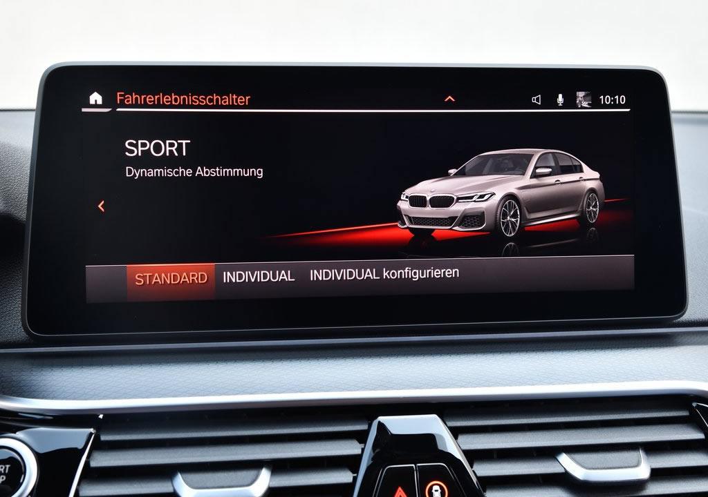 2021 Yeni BMW 545e xDrive 0-100 km/s