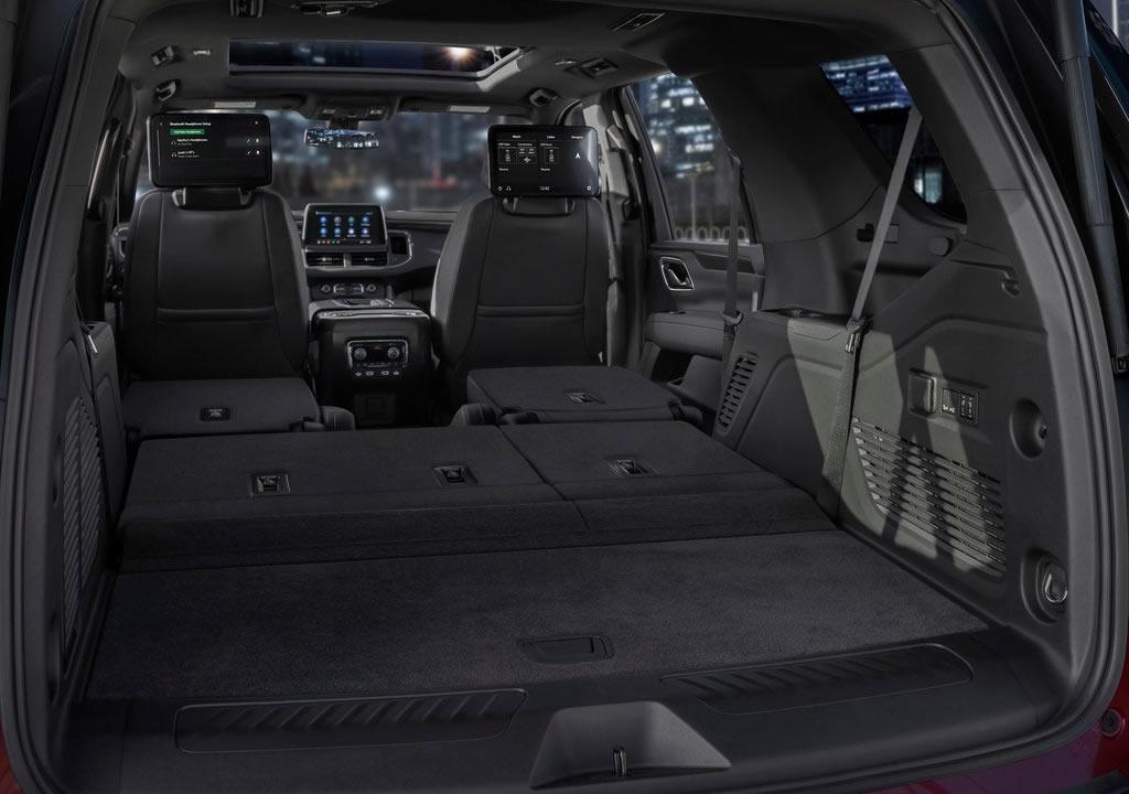 2021 Yeni Chevrolet Tahoe Bagaj Alanı