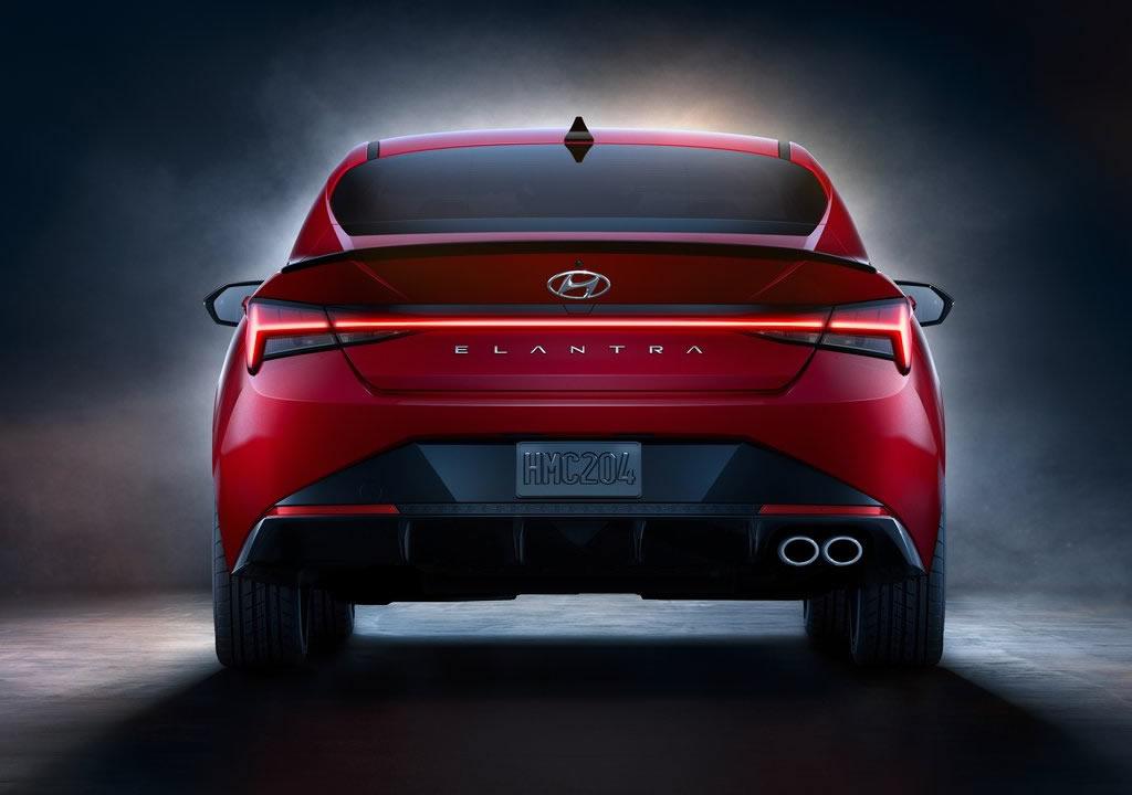 2021 Yeni Hyundai Elantra N Line Fotoğrafları