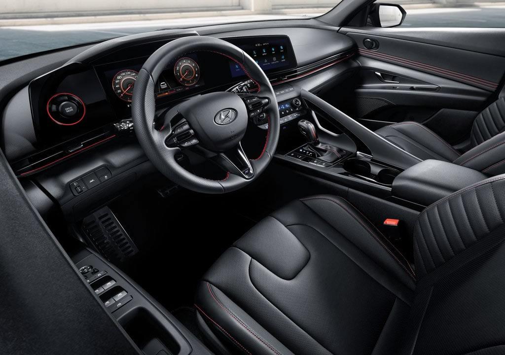 2021 Yeni Hyundai Elantra N Line Kokpiti