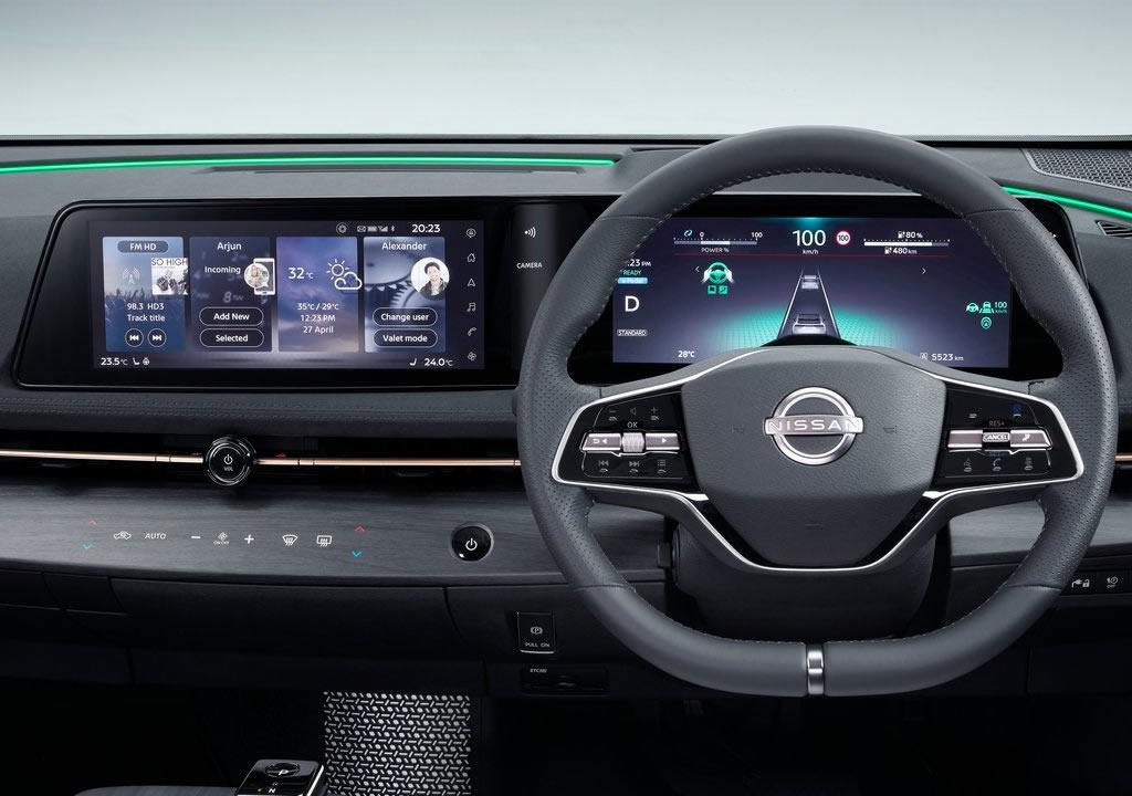 2021 Yeni Nissan Ariya İçi