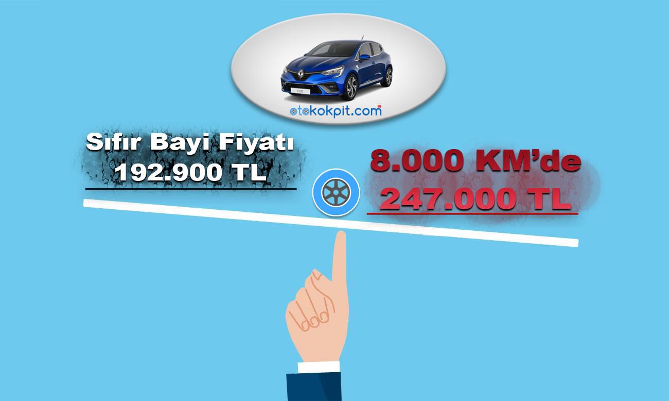 Bayi Satış Fiyatından Çok Daha Pahalı Olan Otomobiller
