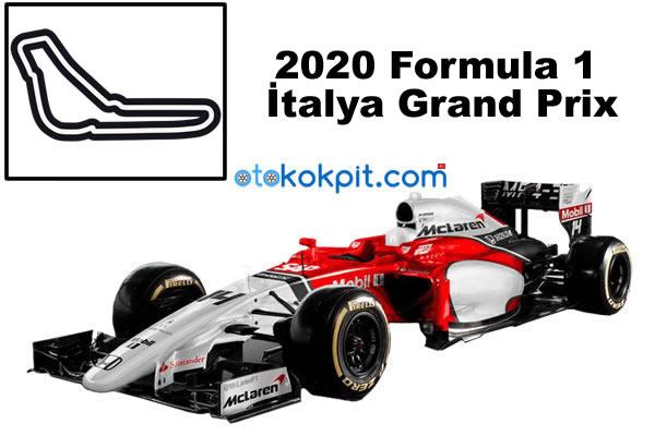 2020 Formula 1 İtalya Grand Prix Hangi Gün
