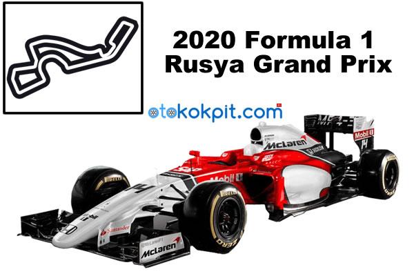 2020 Formula 1 Rusya Grand Prix Saat Kaçta