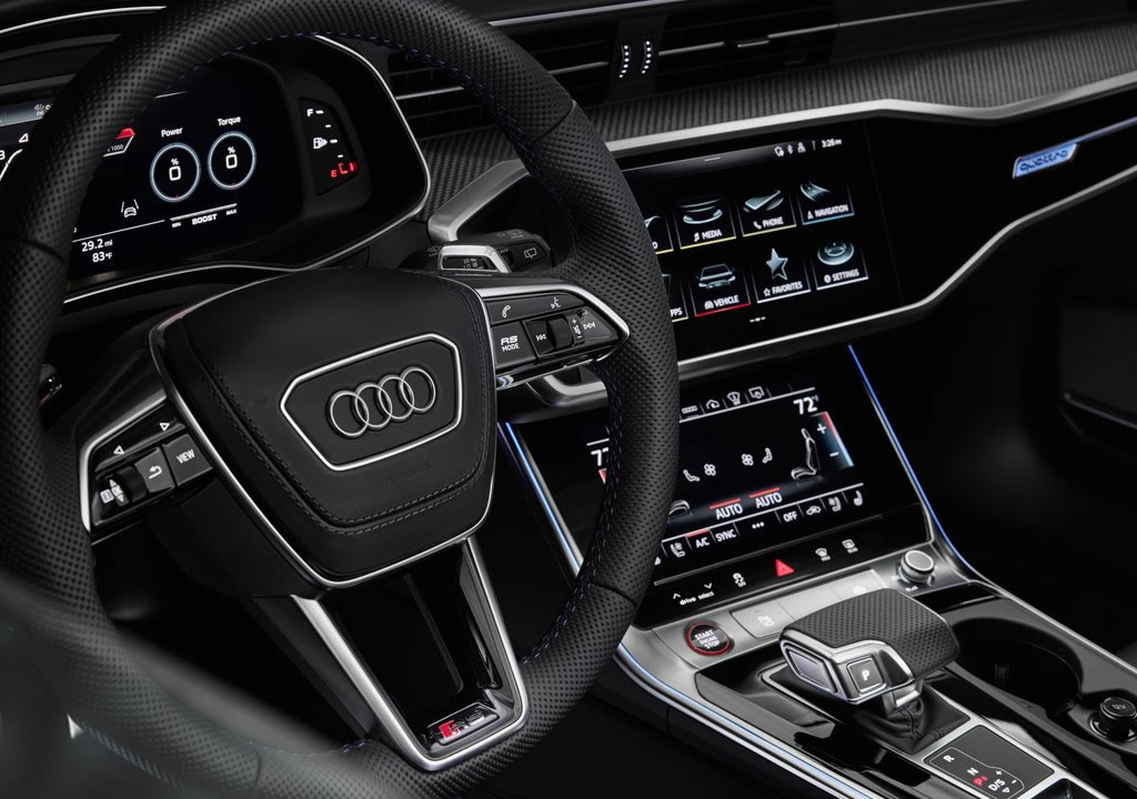 2021 Audi RS6 Avant RS Tribute Edition Kokpiti