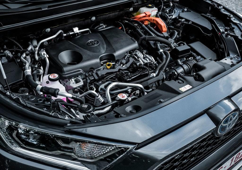 2021 Yeni Toyota RAV4 Plug-in Hybrid Motoru