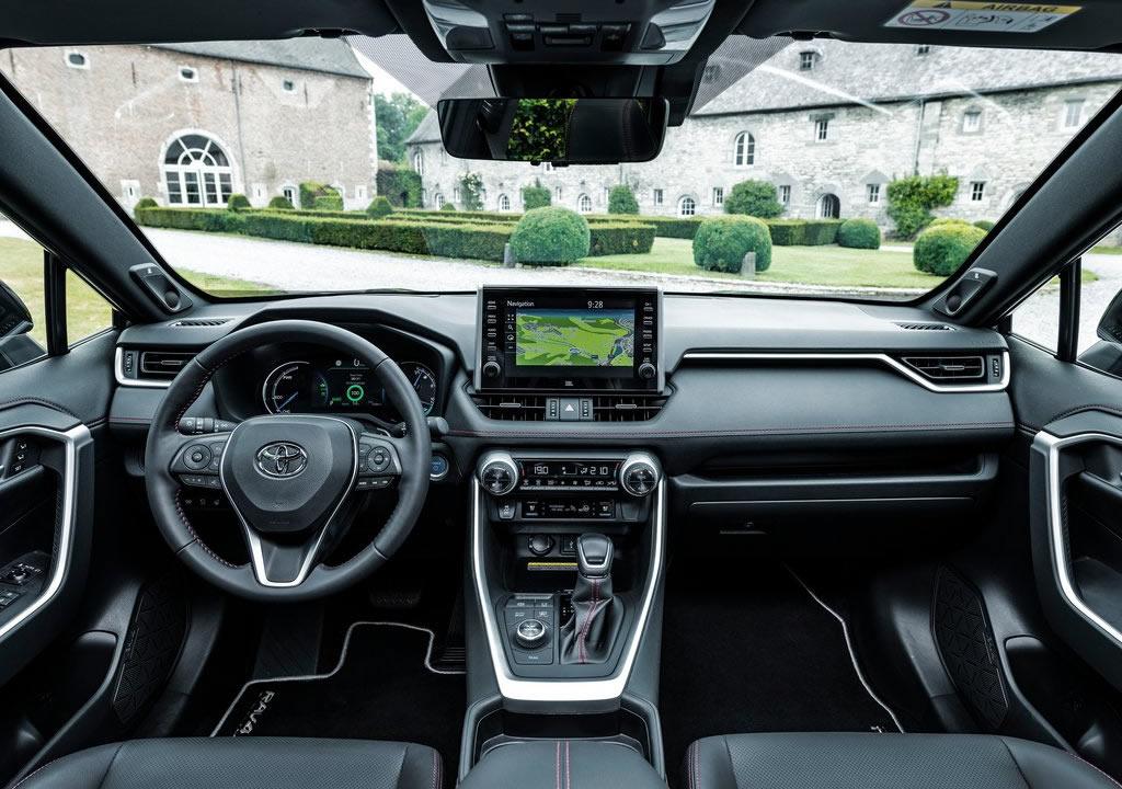2021 Toyota RAV4 Plug-in Hybrid Kokpiti