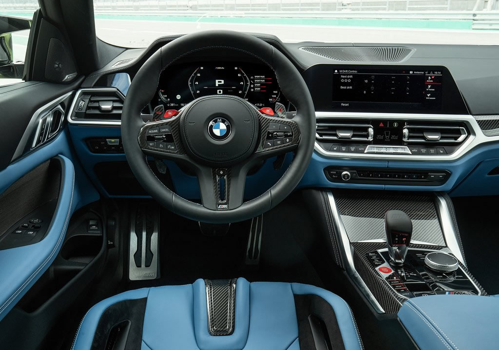 2021 Yeni BMW M4 Competition Kokpiti