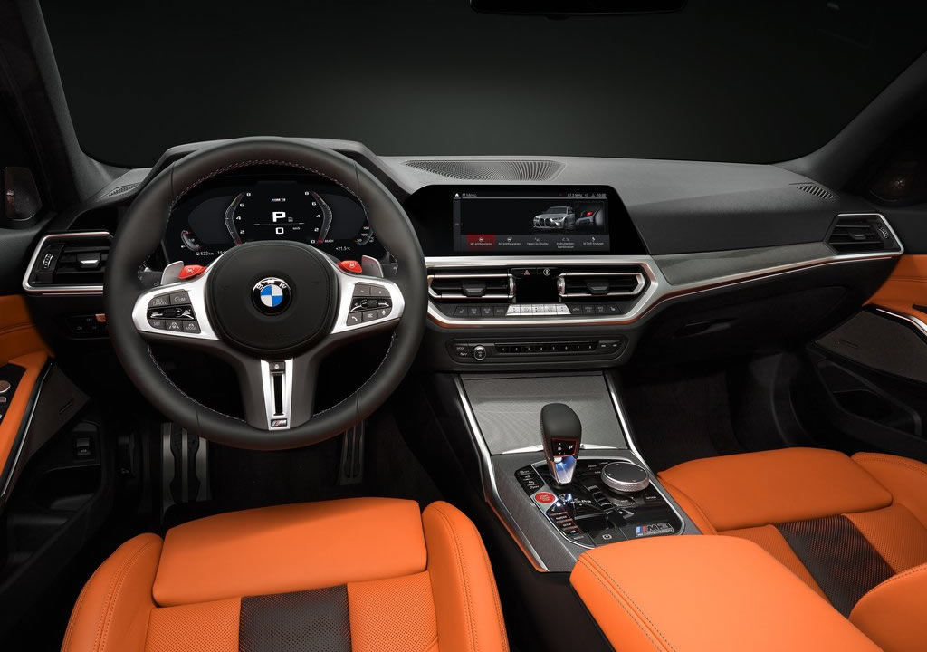 2021 Yeni Kasa BMW M3 Sedan Kokpiti