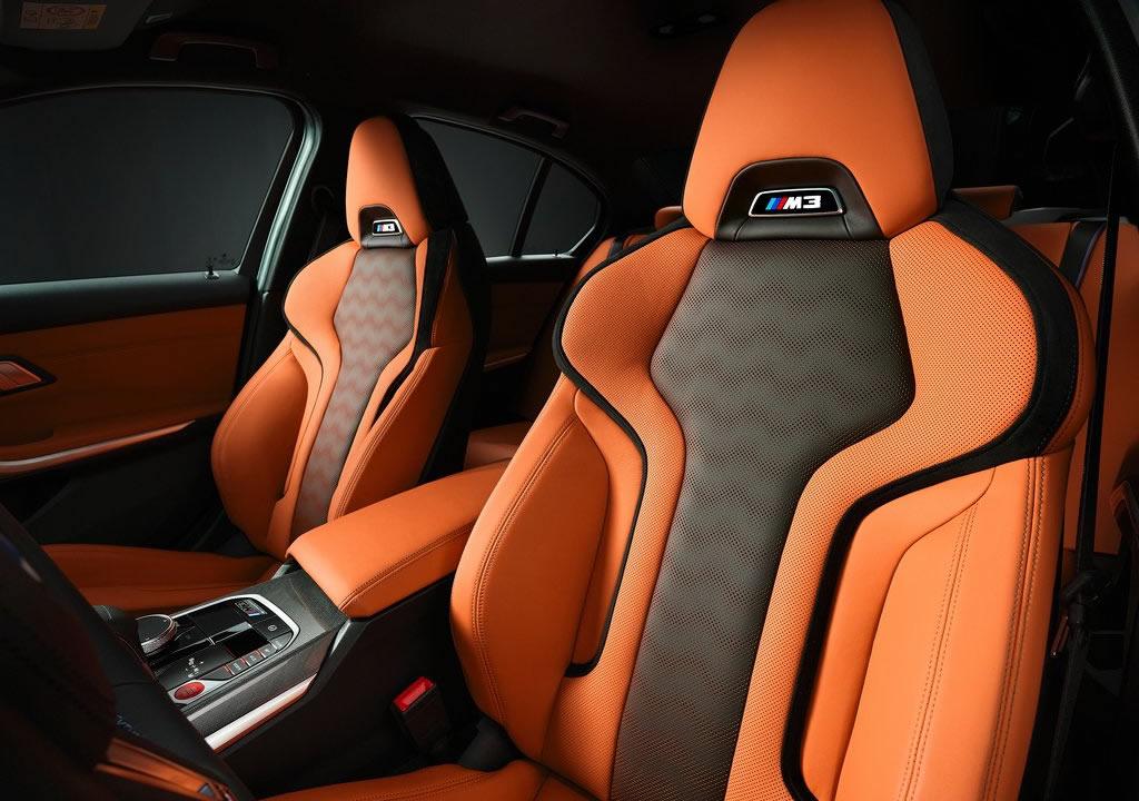 2021 Yeni Kasa BMW M3 Sedan G80 İçi