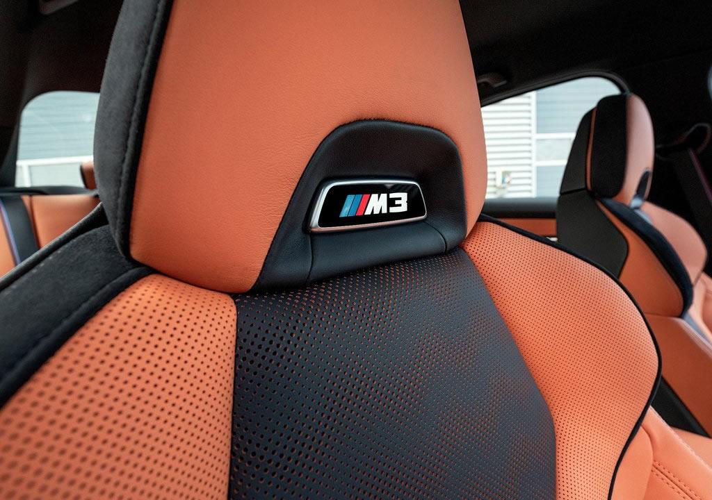2021 Yeni Kasa BMW M3 Sedan G80 Koltukları