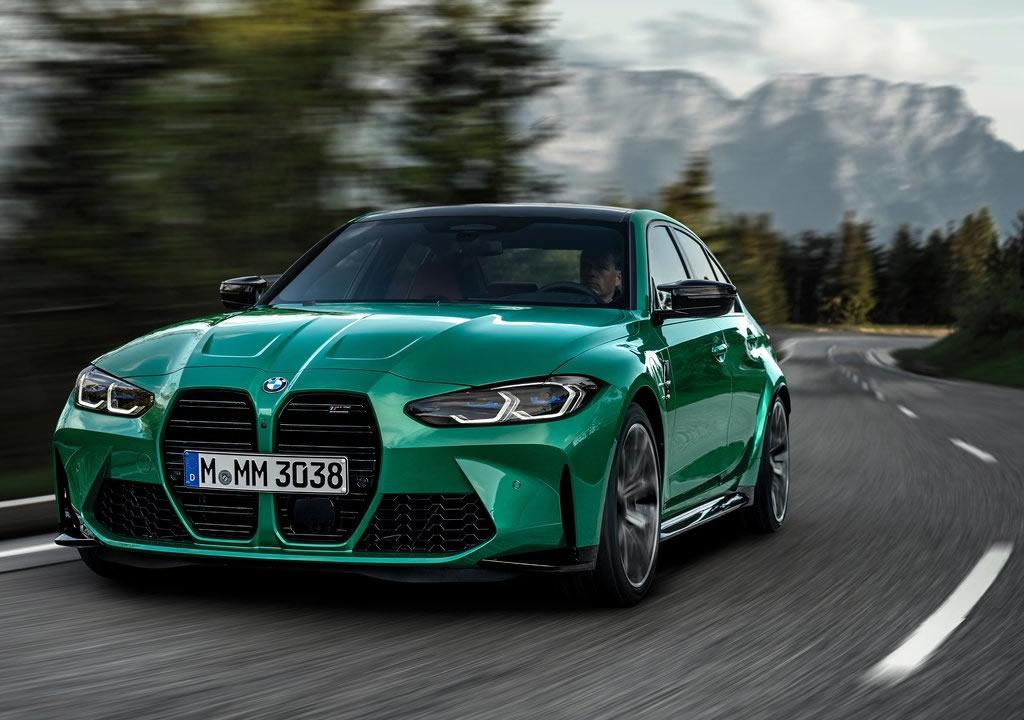 2021 Yeni Kasa BMW M3 Sedan Competition (G80) Özellikleri