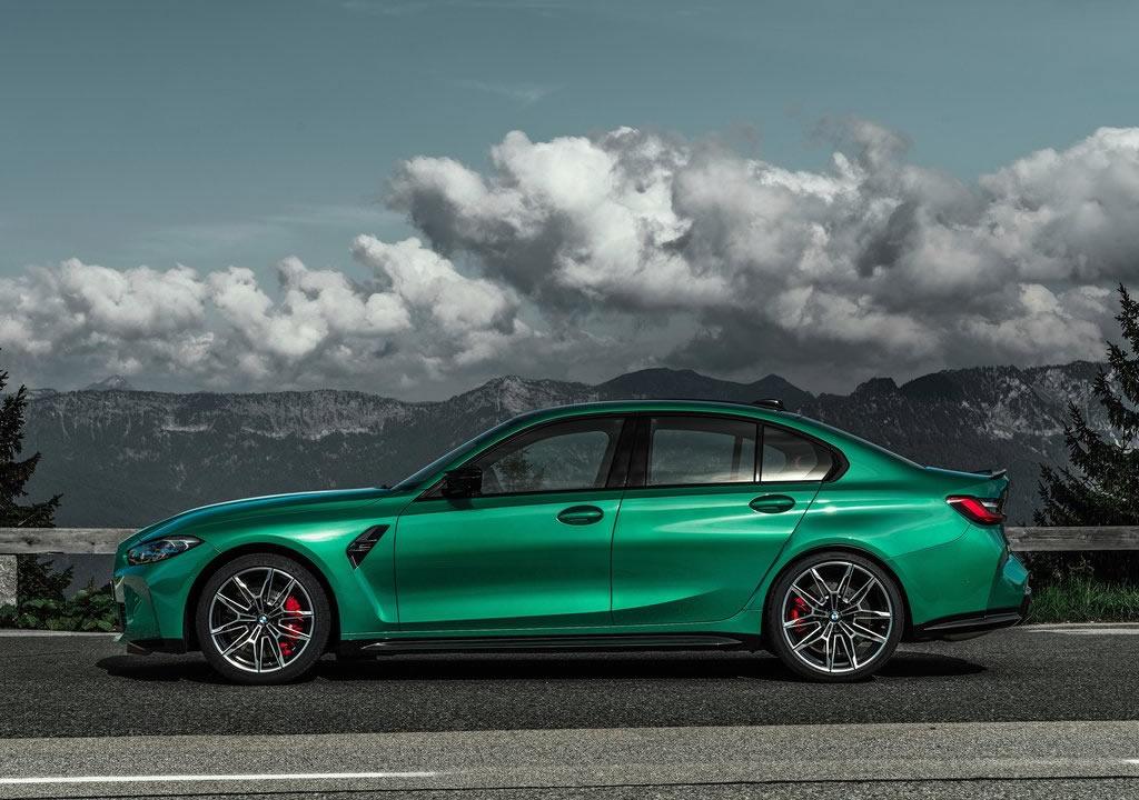 2021 Yeni Kasa BMW M3 Sedan Competition (G80) Boyutları