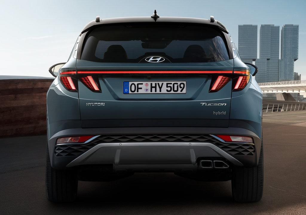 2021 Yeni Kasa Hyundai Tucson Hibrit