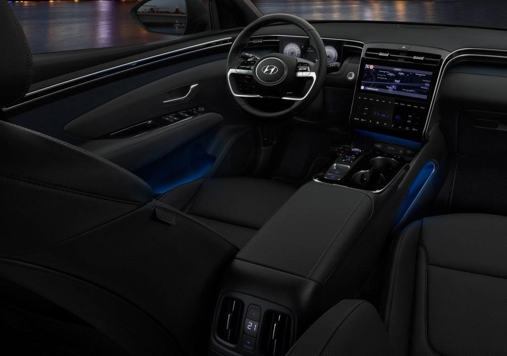 2021 Yeni Kasa Hyundai Tucson (MK4) Kokpiti
