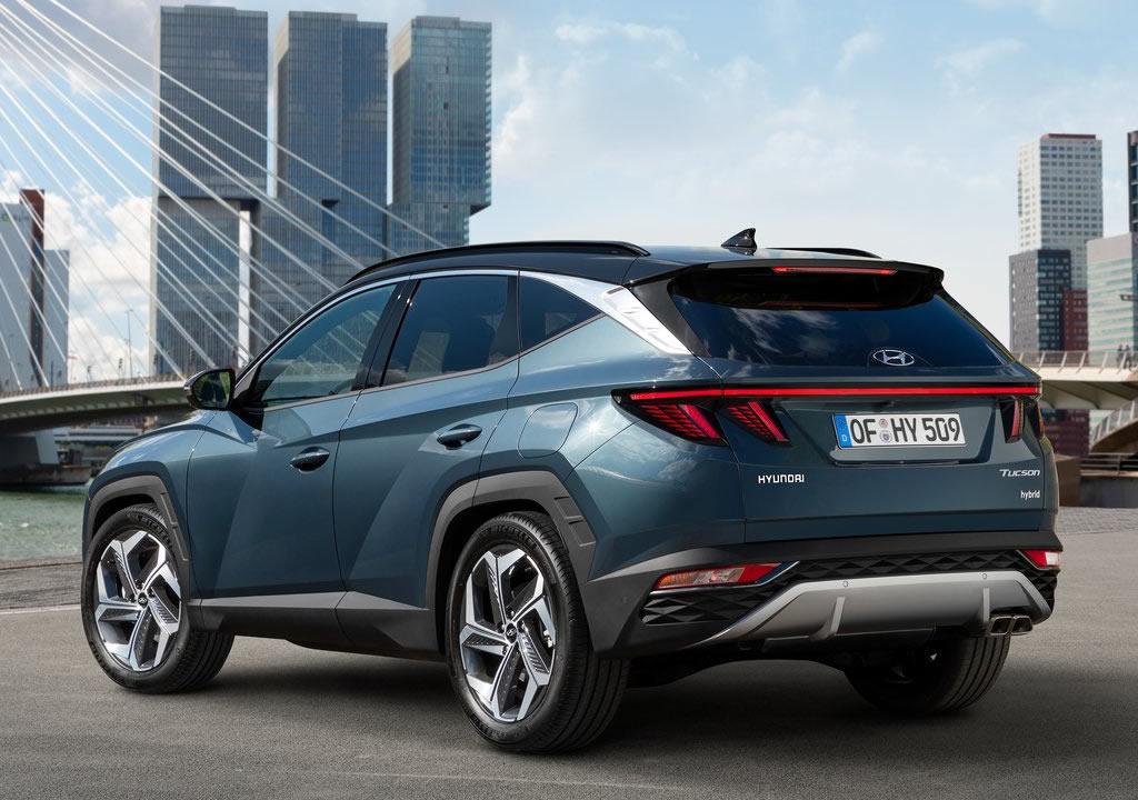 2021 Yeni Kasa Hyundai Tucson Fotoğrafları