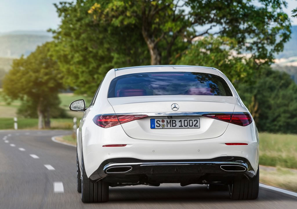 2021 Yeni Kasa Mercedes-Benz S Serisi Fotoğrafları