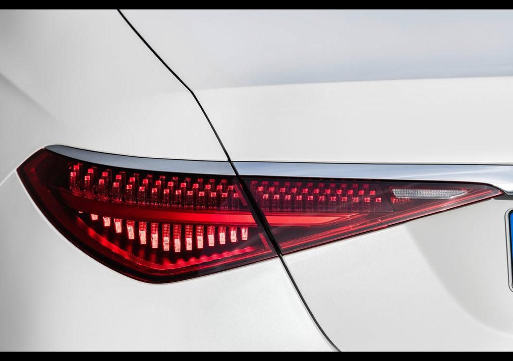 2021 Yeni Kasa Mercedes S Serisi Arkası