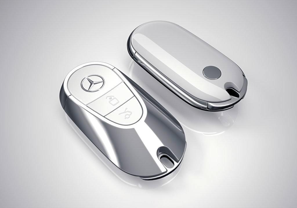 2021 Yeni Kasa Mercedes S Serisi Anahtarı