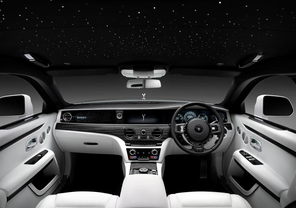 2021 Yeni Kasa Rolls-Royce Ghost Kokpiti