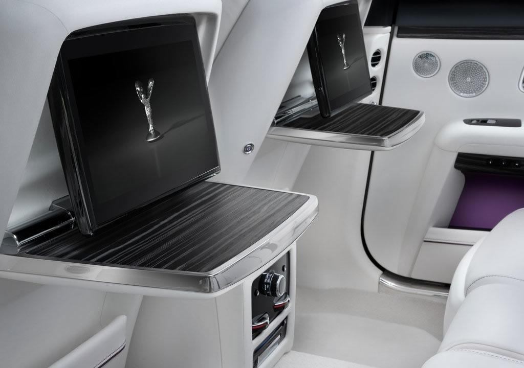 2021 Yeni Kasa Rolls-Royce Ghost İçi