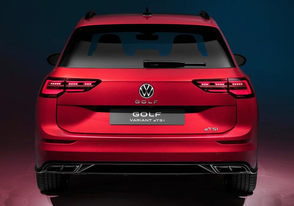 2021 Yeni Kasa Volkswagen Golf Variant Fotoğrafları