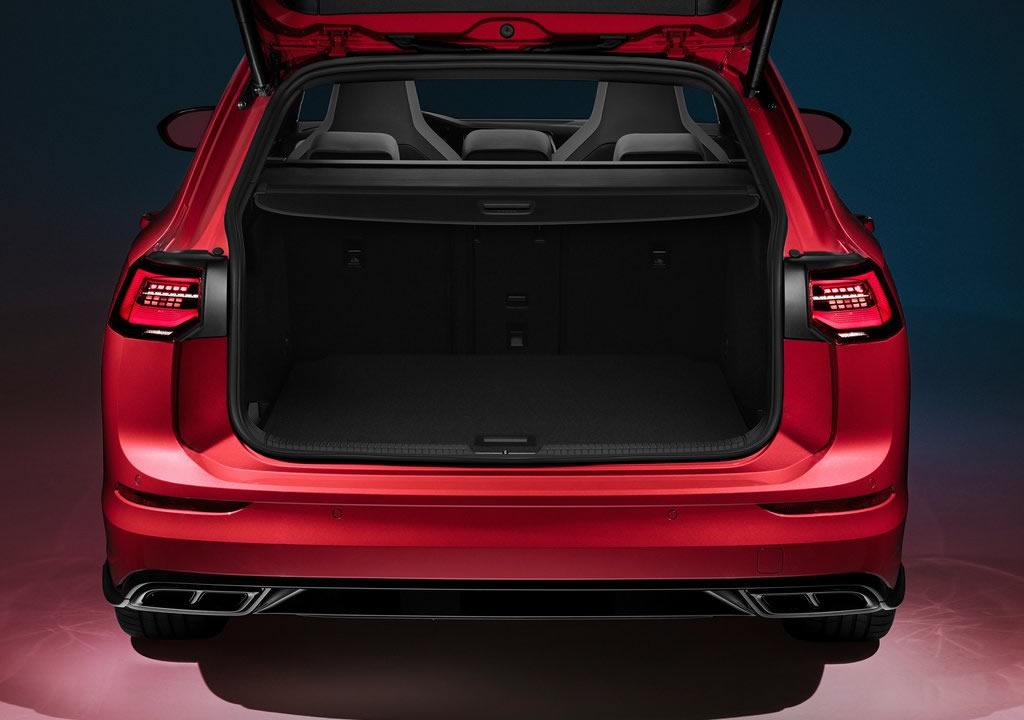 2021 Yeni Kasa Volkswagen Golf Variant Bagaj Alanı