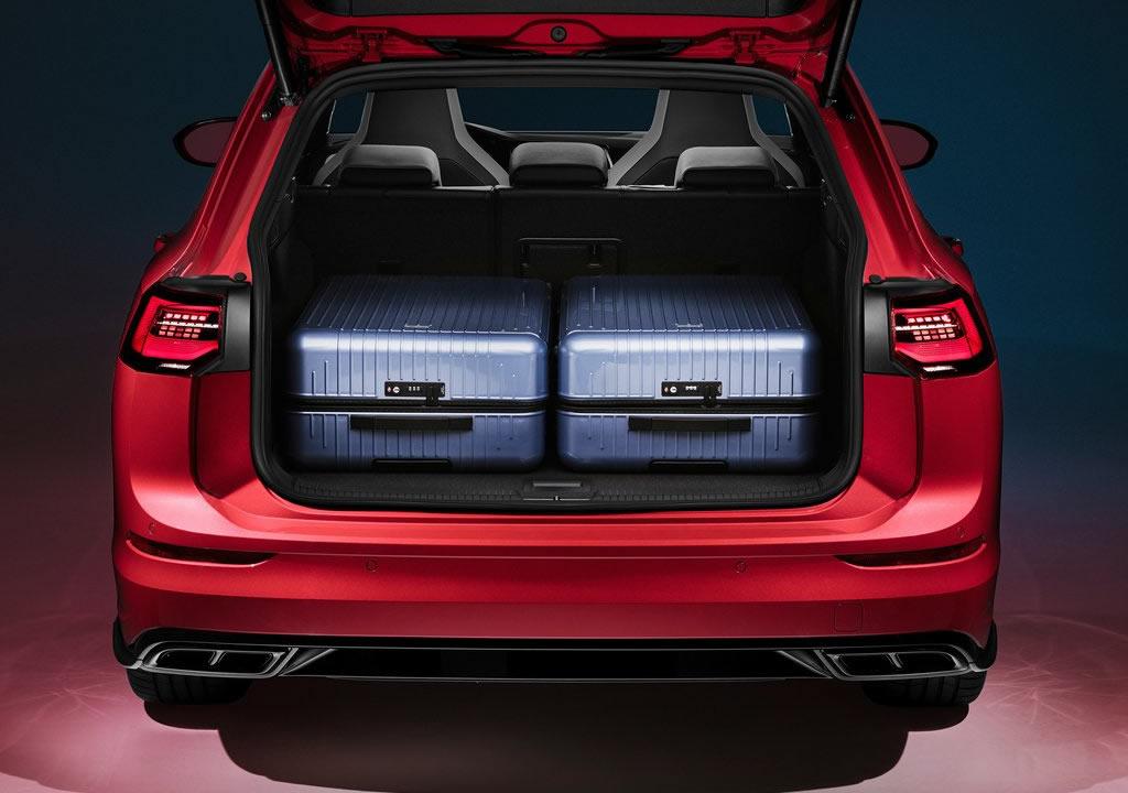 2021 Yeni Kasa Volkswagen Golf Variant Bagajı Kaç Litre