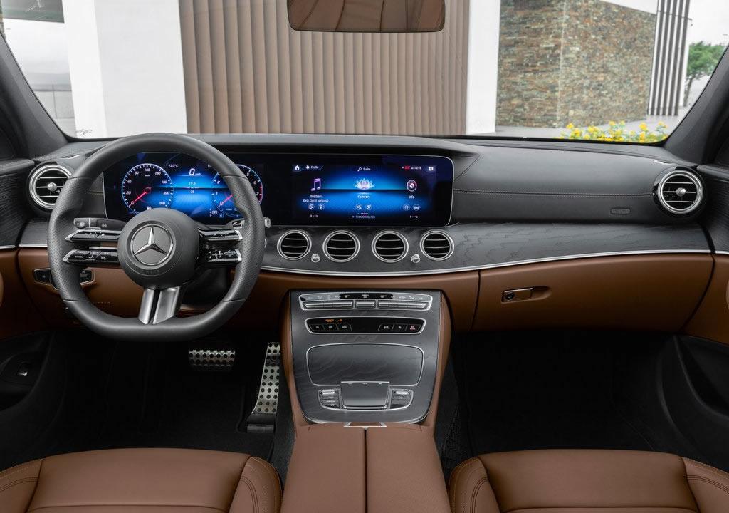 Makyajlı 2021 Mercedes E 220 dMakyajlı 2021 Mercedes E 200 d İçi