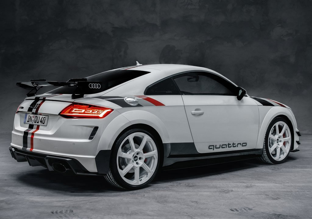 2020 Yeni Audi TT RS 40 Years of Quattro Edition