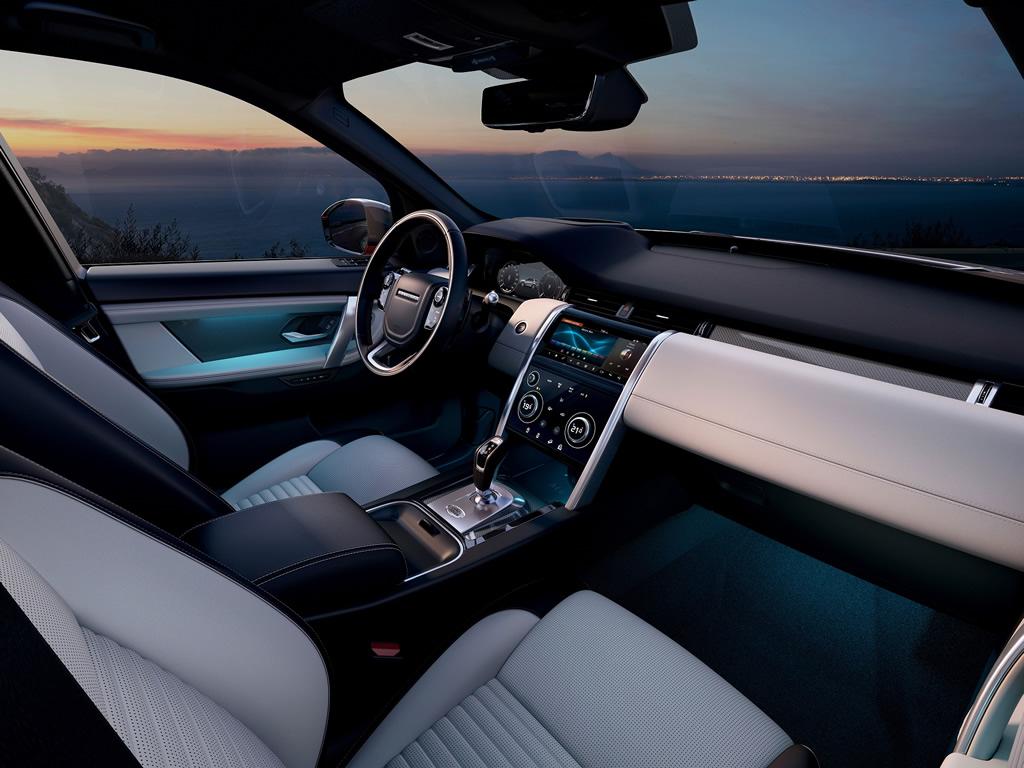 2020 Yeni Land Rover Discovery Sport Menzili