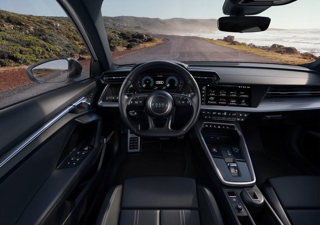 2021 Audi A3 Sportback 30 g-tron Kokpiti