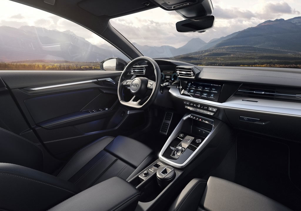 2021 Audi A3 Sportback 30 g-tron İçi