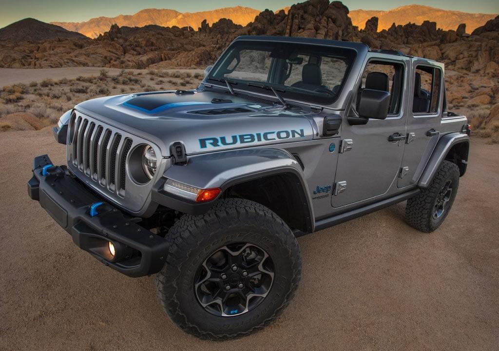 Hibrit 2021 Jeep Wrangler Rubicon 4xe